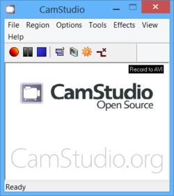 CamStudio Portable Screenshot