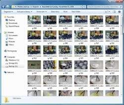 Canon RAW Codec Screenshot