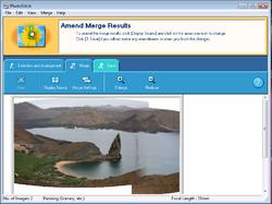 Canon Utilities PhotoStitch Screenshot