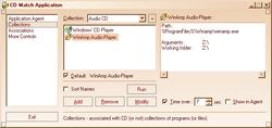 CD Match Application Screenshot