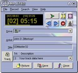 CDMaster32 Screenshot