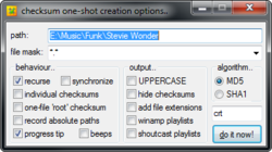 CHECKSUM Screenshot