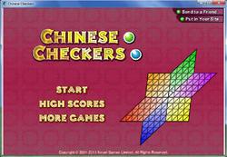 Chinese Checkers Screenshot