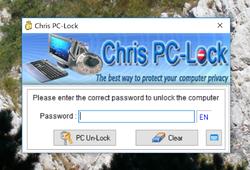 Chris PC-Lock Screenshot