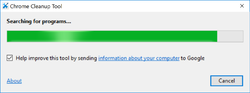 Chrome Cleanup Tool Screenshot