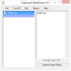 Clipboard Redefined Screenshot
