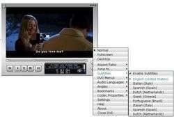 Cliprex DVD Player Professional Screenshot
