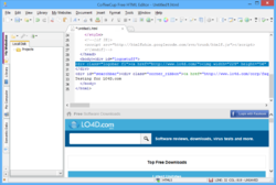 CoffeeCup Free HTML Editor Screenshot