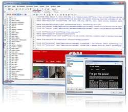 CoffeeCup HTML Editor Screenshot