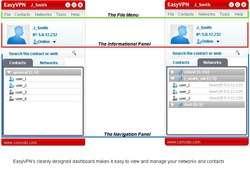 Comodo EasyVPN Screenshot