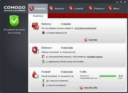Comodo Internet Security and Firewall Screenshot