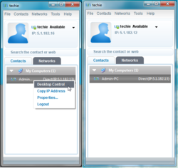 Comodo Unite Screenshot