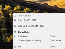 CopyQ Screenshot