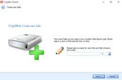 CryptBox Screenshot