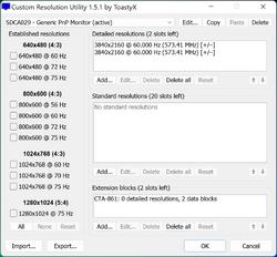 Custom Resolution Utility Screenshot