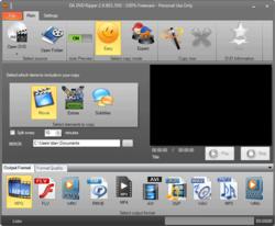 DA DVD Ripper Screenshot