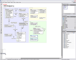 DBDesigner 4 Screenshot