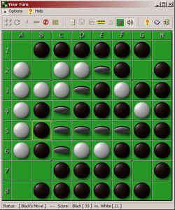 Deep Green Reversi Screenshot