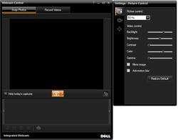 Dell Webcam Central Screenshot