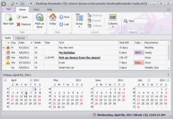 Desktop Reminder Screenshot