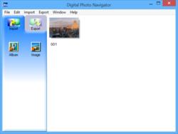 Digital Photo Navigator Screenshot