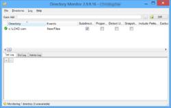 Directory Monitor Screenshot