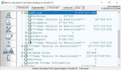 Disk Space Analyzer Screenshot