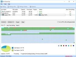 Disk SpeedUp Screenshot