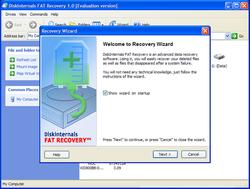 DiskInternals FAT Recovery Screenshot