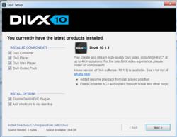 DivX Codec Screenshot
