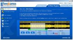 DJ ToneXpress The Ringtone Creator Screenshot