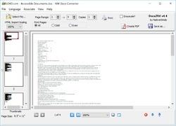 Docx2Rtf Screenshot