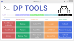 DP TOOLS Screenshot