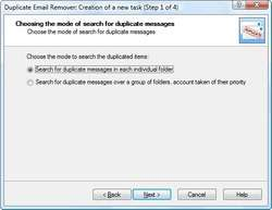Duplicate Email Remover Screenshot