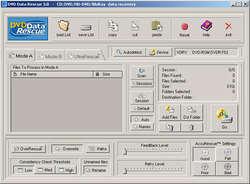 DVD Data Rescue Screenshot