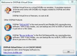 DVDFab Virtual Drive Screenshot