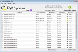 Dyn Updater Screenshot