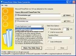 DzSoft Slide Show Screenshot
