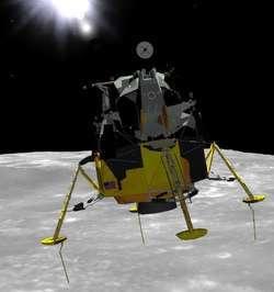 Eagle Lander 3D Screenshot