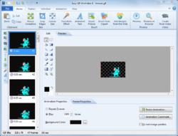 Easy GIF Animator Screenshot