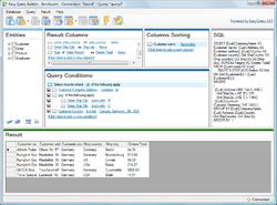 Easy Query Builder Screenshot