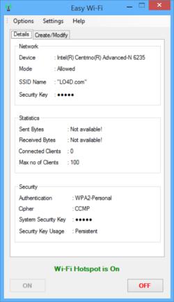 Easy Wi Fi Screenshot