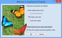 Easy2Sync for Outlook Screenshot