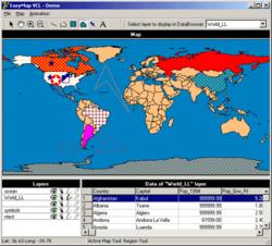 EasyMap VCL Screenshot