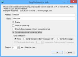 EasyNetMonitor Screenshot