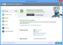 ESET Smart Security Screenshot