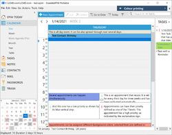 EssentialPIM Portable Screenshot