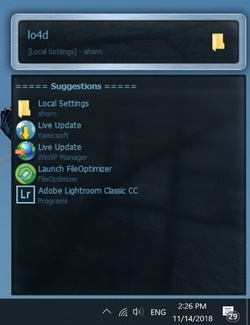Executor Screenshot