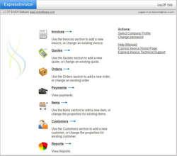 Express Invoice Professional Screenshot