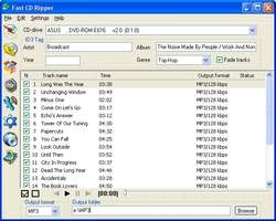 Fast CD Ripper Screenshot